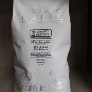 Miscela Zabardi  kg. 1-  50% arabica-50% robusta